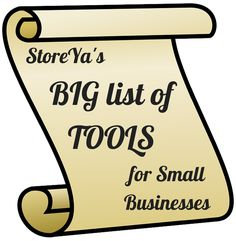 Storeya's Big list of tools for small businesses