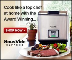 When you make sous vide hamburgers you can cook them long enough to pasteurize them so you can enjoy juicy medium-rare burgers at any time. - Modernist Cooking Made Easy