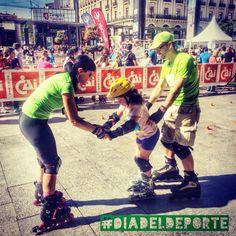Día del Deporte 2014. Roller Blading, Zaragoza, Sports