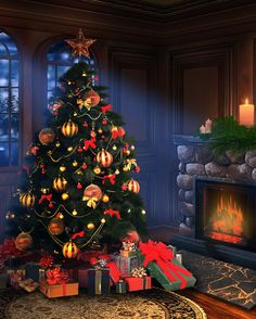 Christmas Eve Printed Backdrop from Backdrop Express - set a realistic holiday scene in your studio! Christmas Scenes, Christmas Quotes, Christmas Pictures, Christmas Eve, Christmas Crafts, Christmas Nails, Christmas Ideas, Victorian Christmas, Christmas Photography Backdrops