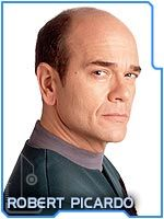 Robert Picardo, the holographic Doctor