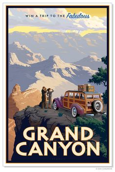 Grand Canyon National Park _______________________________ The Grand Canyon Stat. - Grand Canyon National Park _______________________________ The Grand Canyon State ~ Arizona - Vintage Travel Posters, Vintage Postcards, Retro Posters, Music Posters, Vintage Advertisements, Vintage Ads, Vintage Room, Travel Ads, Travel Photos