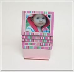 Beautiful and Fun Flip Card (Waterfall Card) made using a template