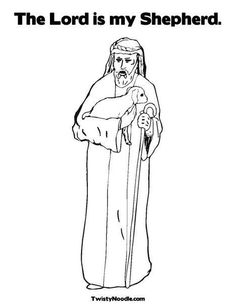 Shepherd Coloring Page Customize It