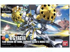 1/144 HGBF R-Gyagya Gundam by  Bandai