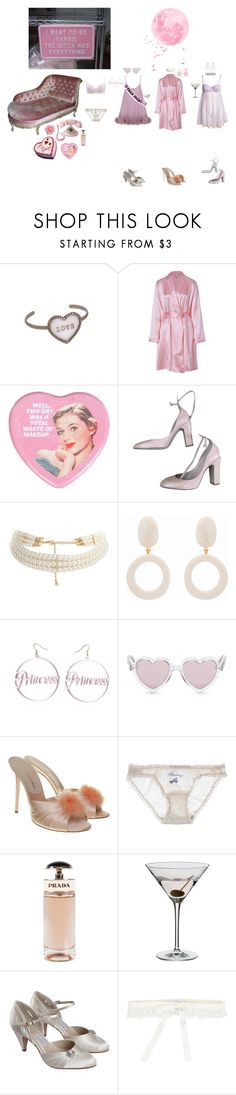 """""""SOFT BABYPINK 🌸"""" by moon-mermaidens ❤ liked on Polyvore featuring La Perla, Miss Selfridge, ASOS, Sons + Daughters, Agent Provocateur, STELLA McCARTNEY, Prada, Dartington Crystal, Pink and soft"""