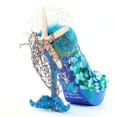 nixxi rose mermaid shoe - Google Search