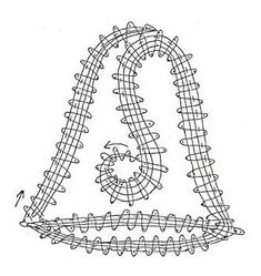 Teneriffe, Bobbin Lace Patterns, Needle Lace, Lace Making, Hobbies And Crafts, Knit Crochet, Projects To Try, Creations, Christmas Decorations