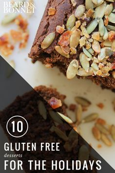 10 gluten free desserts for the holidays