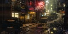 ArtStation - urban locations, Yura Gvozdenko