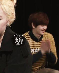 BTOB, Sungjae imitating Ilhoon's aegyo