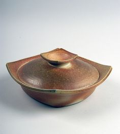 Marsha Owen    casserole, 1998; purchased in Raleigh, North Carolina; stoneware;