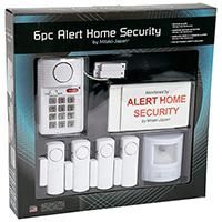 Safety has become an utmost concern today, making it necessary to install a security system in your home. Having a convenient and easy to install alarm system that can cover the entire area of your home is also important. This six piece security system comprises of a complete security unit including motion detection wireless door/window sensor alarms and panic button.