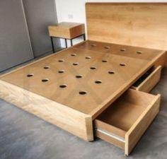 Bedroom Bed Design With Storage 26 New Ideas #bedroom