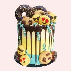 Image result for extravagant drip cakes