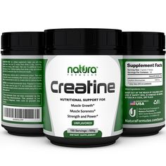 #1 Pure Micronized Creatine Monohydrate Powder - 100 Servings (FREE gift)