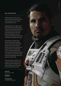 #Rick Martinez #The Martian