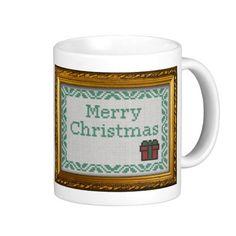 Cross Stitch merry christmas