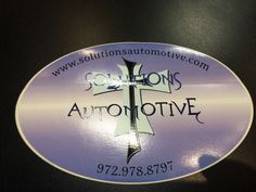 Those that have this sticker on their car will receive 1/2 off of an oil change. If we see this sticker while we're out and about (not at the shop) you'll a receive a FREE oil change. Ask for one next time you're in the shop!