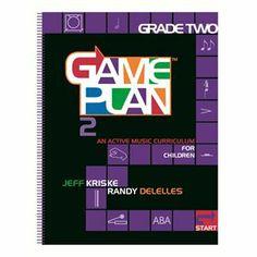 GAMEPLAN Grade 2 Curriculum ( 825384), M, B & R Music Classroom Books & Materials Orff-Schulwerk