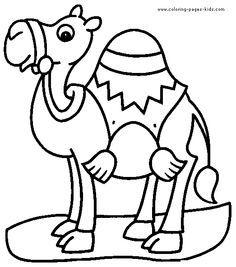 Ausmalbild Kamele  Kamele  Wste  Pinterest  Kamel