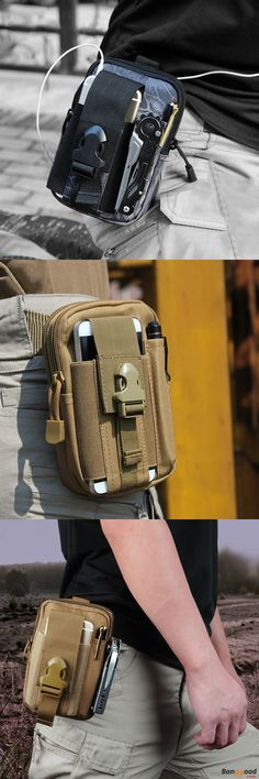 US$8.99 + Free shipping.Tactical Waist Bags, Outdoor Waist Bags, Sport Waist Bags, Mobile Phone Bags, Phone Case. Multiple Colors: Black, Green, Desert Camo, ACU, CP, AT, Mud Color, Desert Digital. Waterproof Material. Perfect for shopping, cycling, climbing and travel.