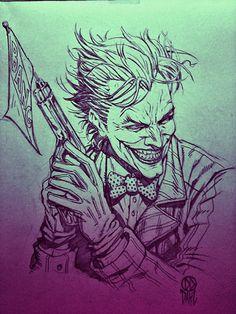 Joker, by Daniel Dahl.