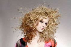 Blond Shaggy Curls Hairstyle Web Design, Permed Hairstyles, Hair A, Shaggy, Curls, Dreadlocks, Long Hair Styles, Lady, Beauty