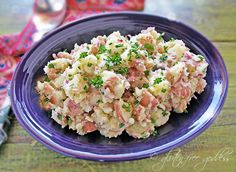 Red Potato Salad with Horseradish #glutenfree #vegan