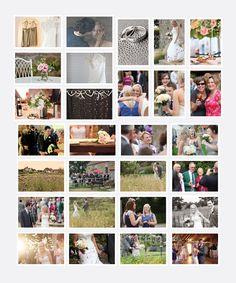Grittenham Barn Wedding Board