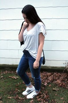 Elevate Your Basic Tee + Jeans - my sweet genevieve