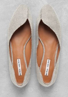 & Other Stories | Asymmetric ballerina flats