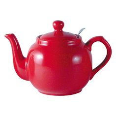 Buy London Pottery Red Farmhouse Filter Teapot, 0.6L | John Lewis