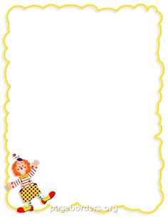 Clown Border