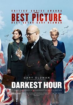 [link] Darkest Hour is a 2017 British biographical war drama film directed by Joe Wright and written by Anthony McCarten https://en.wikipedia.org/wiki/Darkest_Hour_(film) (fr=Les Heures sombres)