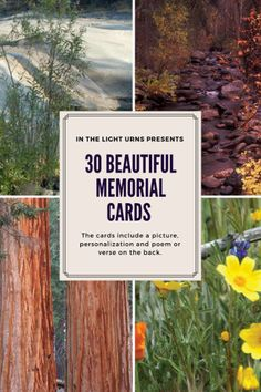 Memorial funeral cards are a lasting and meaningful tribute to a loved one who has passed, and are a perfect keepsake for those who attend visitations, funerals and memorial services.