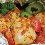 Chicken Italian in Foil