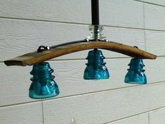 Love!!! Wish my insulators were blue