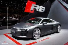 Cars - Audi R8 : les photos du salon de Genève... - http://lesvoitures.fr/audi-r8-les-photos-du-salon-de-geneve/