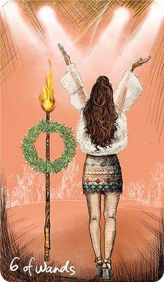Light Seer's Tarot Meanings 6 of Wands – The Light Seer's Tarot // Chris-Anne // Tarot Cards and Meanings Tarot Decks, Tarot By Cecelia, Tarot Significado, All Tarot Cards, Love Tarot, Wicca, Oracle Tarot, Tarot Card Meanings, Tarot Readers
