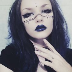 Witchy make up/ war paint