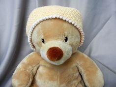 Crochet Kids Hat Beanie Yellow - Crowe Shea Fashions: The Shop