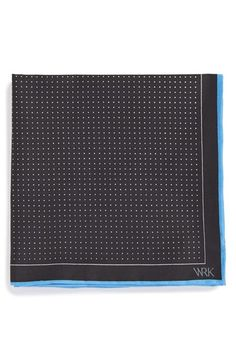 W.R.K Dot Silk Pocket Square available at #Nordstrom