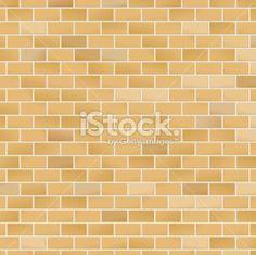 Yellow Brick Pattern