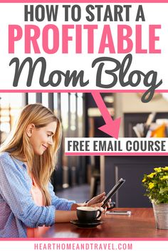 Thinking about starting a blog? Learn how to start a money-making blog in this free 7-day email course designed for moms and beginners. Learn how to start a blog, when and how to monetize your blog, the best tools for your blog, and the best blogging resources to help you along the way. #momblogger #blogging #startablog #bloggingcourse #freecourse #blog #bloggingresources via @hearthometravel