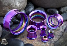 dark purple titanium eyelets from bodyartforms.com. i want these!!!