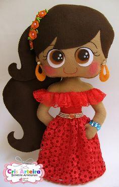 Boneca Princesa Elena de Avalor