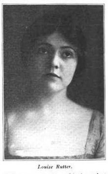 Louise Rutter - Wikipedia