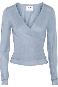 Banjo & Matilda Ballet silk and cashmere-blend wrap cardigan | NET-A-PORTER