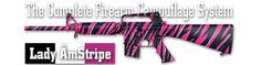 A great pink variation for rifles and pistols.. Duracoat Firearm Finishes